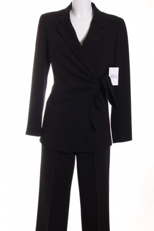 Max Mara Business-Anzug schwarz Business-Look