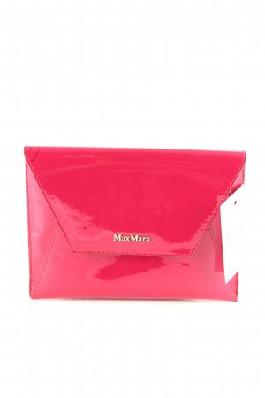 Max Mara Borsa clutch magenta elegante