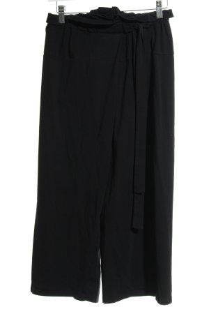 Max Mara Pantalone culotte nero stile da moda di strada