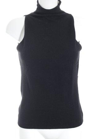 Max Mara Empire Waist Top black minimalist style