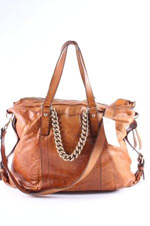 Max Mara Handbag brown-gold-colored street-fashion look