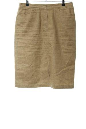 Max Mara High Waist Skirt bronze-colored business style