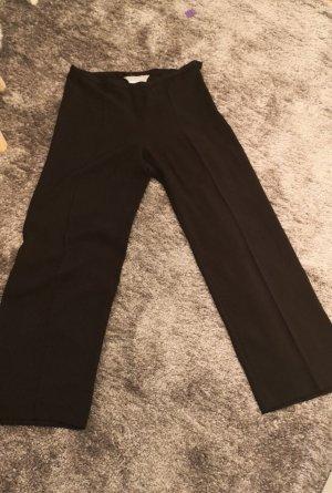 Max Mara Pantalón de lino negro