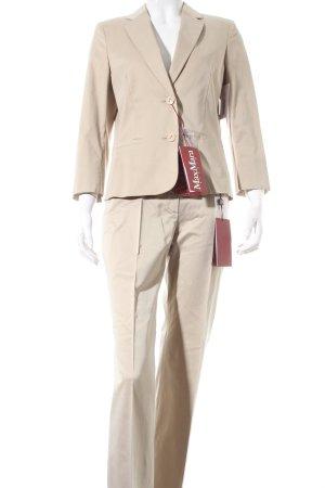 Max Mara Tailleur pantalone beige stile casual