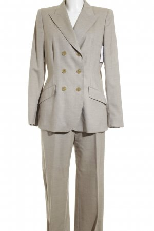 Max Mara Hosenanzug creme meliert Business-Look