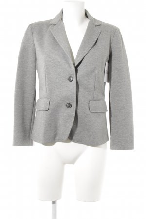 Max Mara Jerseyblazer grau Business-Look