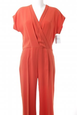 Max Mara Jumpsuit bright red casual look
