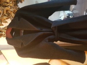 Max Mara Oversized Coat black alpaca wool