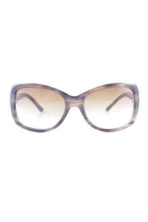 Max Mara Vierkante bril grijs-bruin-room casual uitstraling