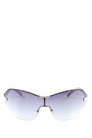 Max Mara Vierkante bril grijs-bruin-lichtgrijs casual uitstraling