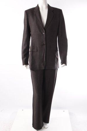 Max Mara Kostüm dreiteilig graubraun