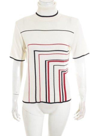 Max Mara Short Sleeve Sweater striped pattern classic style