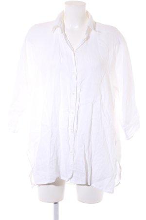 Max Mara Chemise à manches longues blanc cassé style décontracté