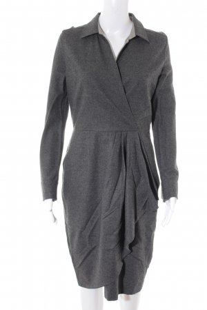 Max Mara Langarmkleid anthrazit Business-Look