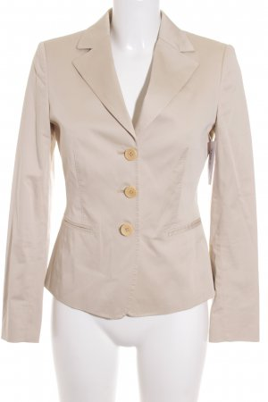 Max Mara Long-Blazer creme Casual-Look