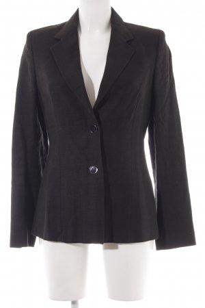 Max Mara Long-Blazer schwarz Casual-Look