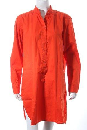 Max Mara Long-Bluse rot klassischer Stil
