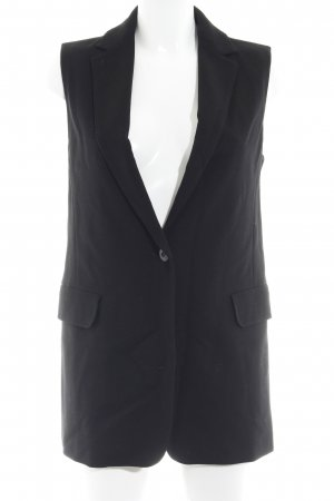 Max Mara Long Knitted Vest black casual look
