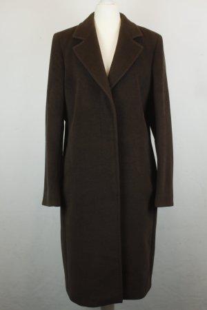 Max Mara Mantel Coat Wollmantel Gr. 42 braun