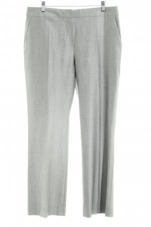 Max Mara Marlene Trousers grey-light grey flecked business style