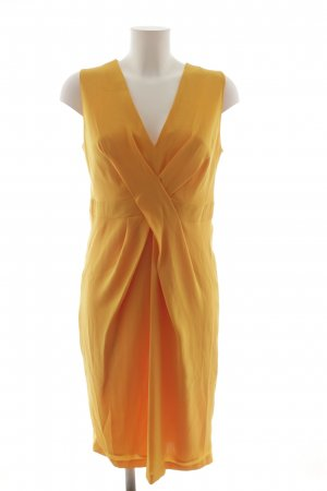 Max Mara Midi Dress gold orange casual look
