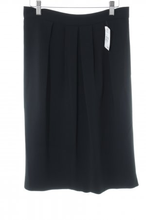 Max Mara Gonna midi nero stile professionale