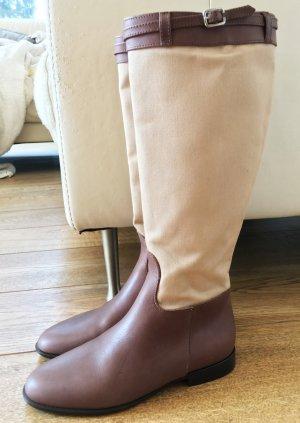 Max Mara Riding Boots multicolored leather