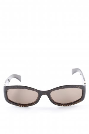 Max Mara ovale Sonnenbrille mehrfarbig Casual-Look