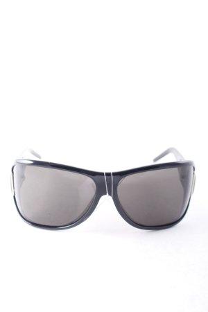 Max Mara Pilotenbril zwart atletische stijl