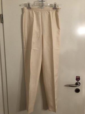 Max Mara Pantalone jersey crema