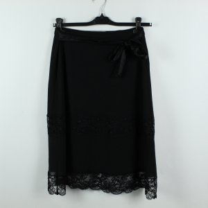 Max Mara Silk Skirt black silk
