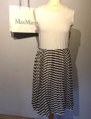 Max Mara Shirt Dress black-white