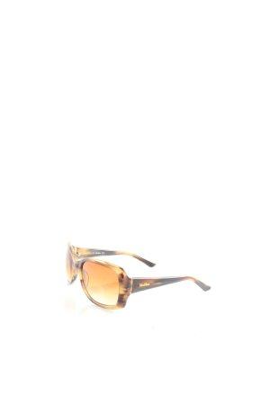 Max Mara Sonnenbrille beige-dunkelbraun Street-Fashion-Look