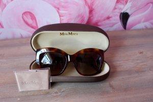 Max Mara Sonnenbrille Gem2 Braun mit Etui