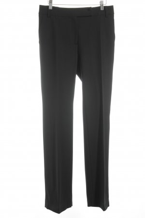 Max Mara Stoffhose dunkelblau Business-Look