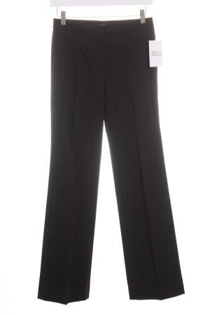 Max Mara Pantalone jersey nero stile classico