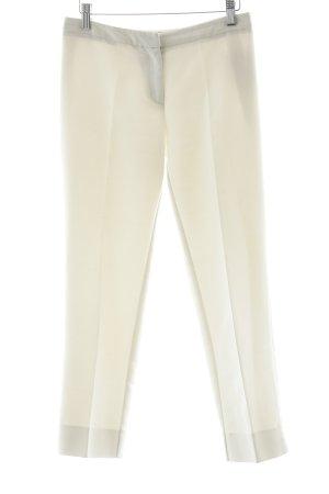 Max Mara Pantalone jersey bianco stile casual