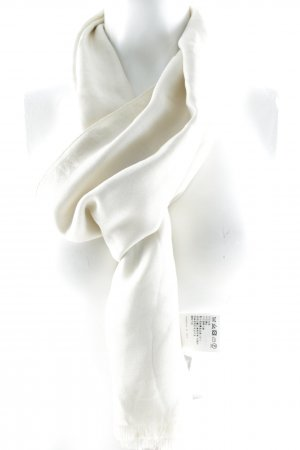 Max Mara Stole cream monogram pattern simple style