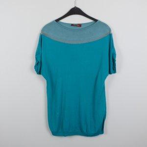 Max Mara T-shirt Gr. L blau (18/10/457)