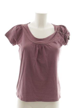 Max Mara T-Shirt graulila Casual-Look