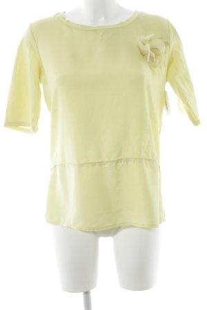 Max Mara T-shirt giallo lime stile casual