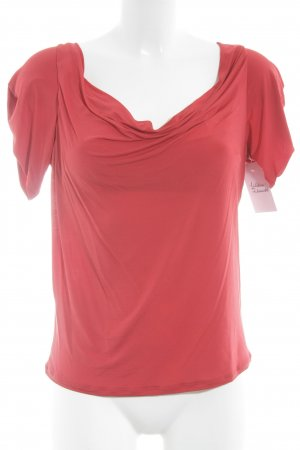 Max Mara T-Shirt rot Elegant