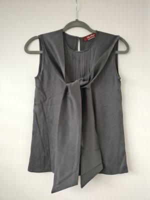 Max Mara A Line Top grey-anthracite