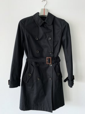 Max Mara Trench Coat black