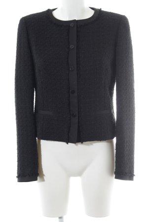 Max Mara Blazer in tweed nero elegante