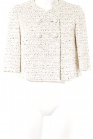 Max Mara Blazer in tweed motivo a righe stile casual