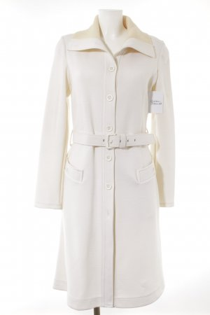 Max Mara Between-Seasons-Coat natural white casual look