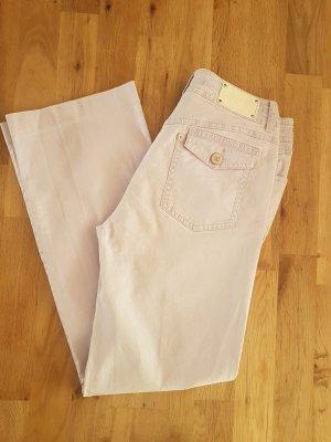 Max Mara Pantalone elasticizzato malva-lilla