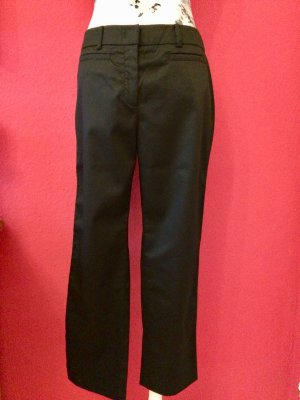 Max Mara Low-Rise Trousers black cotton