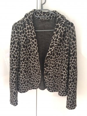 Max Mara Weekend Wollblazer, animal print, ungetragen, Gr. 38